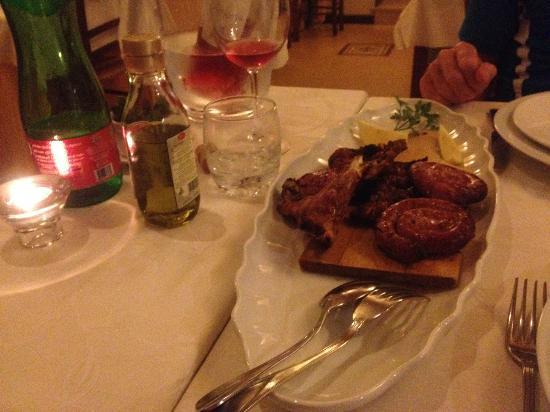 Trattoria La Tana : Grilled meat