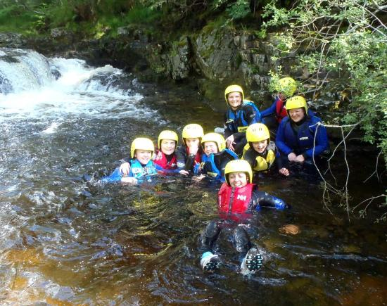 Cateran Trail : Gorge Walking Group August 2012