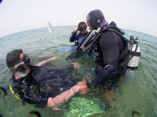 Arab Divers: during course 2