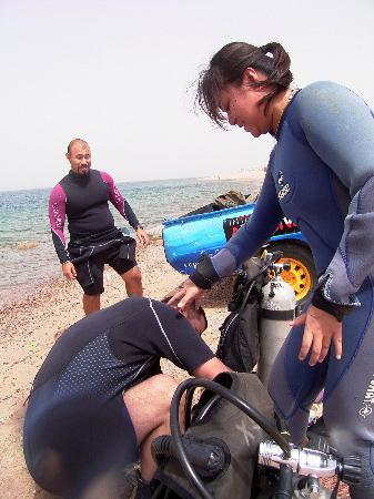 Arab Divers: during course