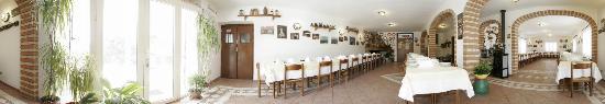 Santa Caterina di Pittinuri, Italie : Sala pranzo