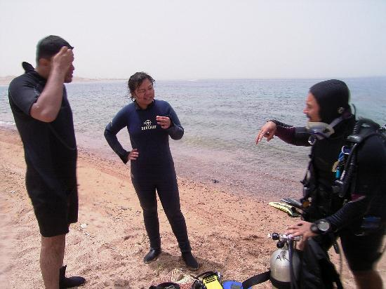 Arab Divers: during course 8