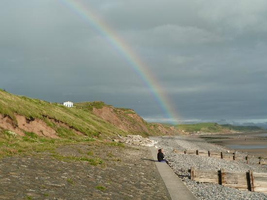 St. Bees, UK: lovely view on beach