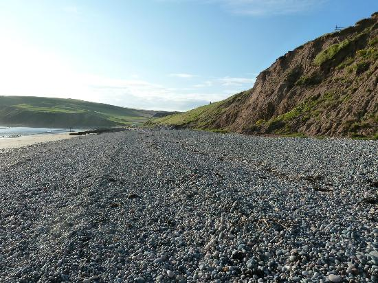 St. Bees, UK: pebble beach