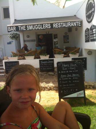 The Smugglers : leuk restaurantje lekkere aardbeien!