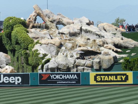 View of the Rocks - Picture of Angel Stadium of Anaheim - Tripadvisor