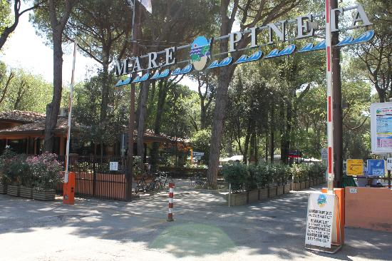 Lido degli Estensi, Italy: ingresso