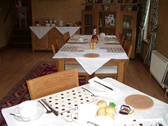 Southwood Bed and Breakfast: Dining Room