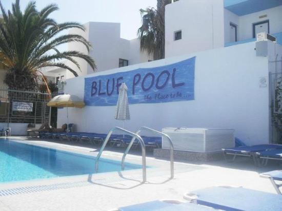 Kalia Apartments: The Blue Pool