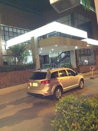Hotel Chicamocha: la entrada