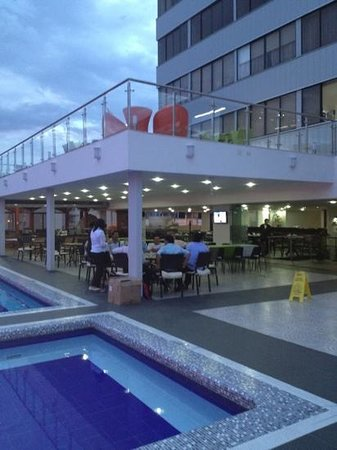 Hotel Chicamocha : restaurante