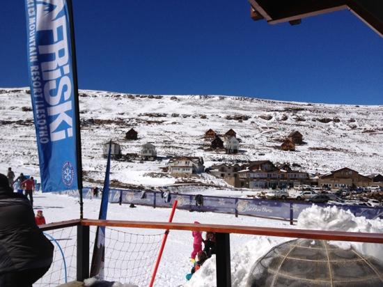 AfriSki Ski and Mountain Resort: view from ski school
