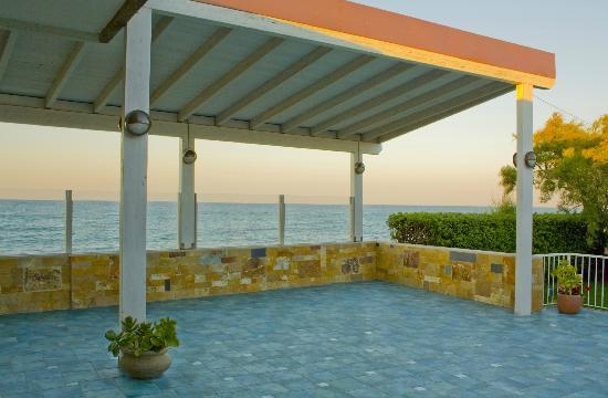 Villa Marina da Sanna: Il terrazzo del ristorante Villa Marina.