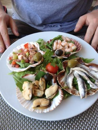 Gusta Me : cold seafood platter