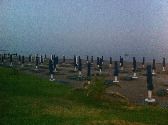 Olympos Beach Resort : The beach from beach bar