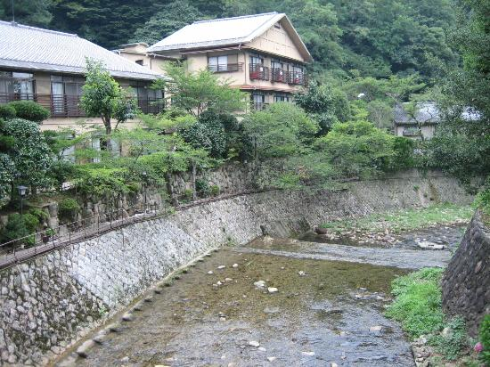 Arima Onsen Gekkoen Yugetsusanso: 游月山荘へ行く橋からの景色
