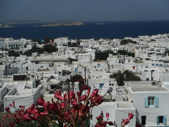 PortoBello Boutique Hotel: Mykonos from the hotel