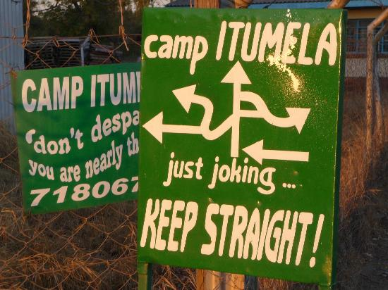 Camp Itumela: Keep going