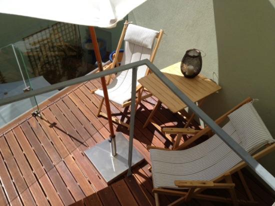 Casa Amora Guesthouse: terrasse
