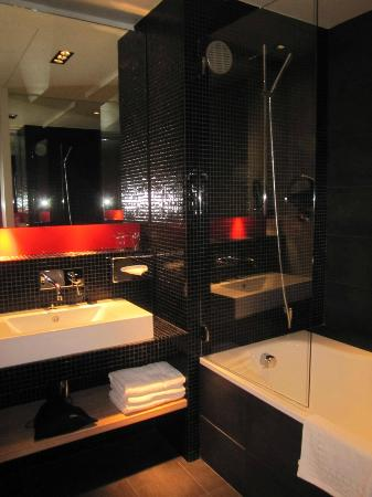 Golden Tulip Opera De Noailles: Our bathroom.