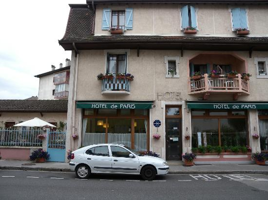 Photo de hotel de paris annecy for Paris hotel address