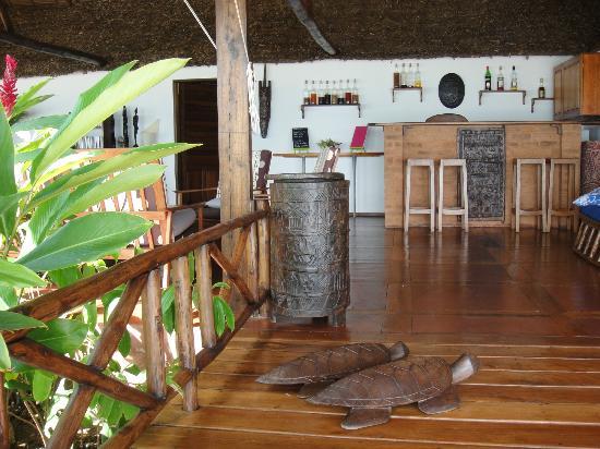 Antoremba - Lodge: l'ingresso al ristorante/bar
