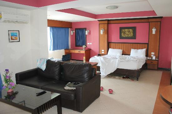 Pattaya Bay Resort: Rooms