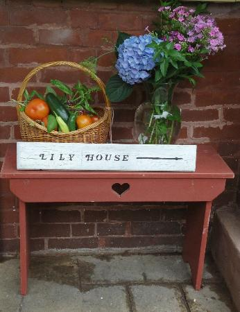 Lily House B&B: Welcome