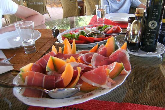 Agriturismo La Sovana: Lunch