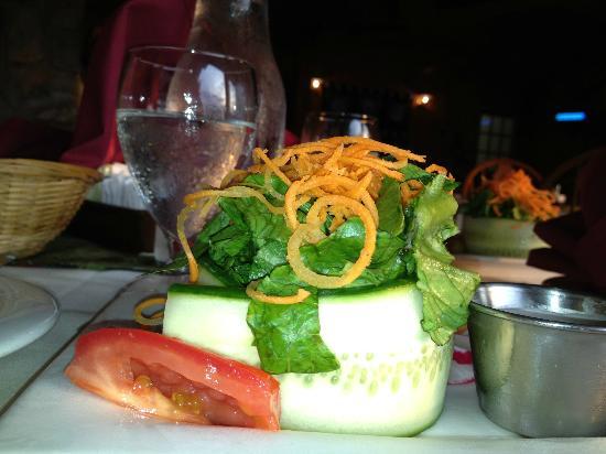 Justine's at the Gunflint Lodge: creative salad