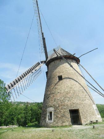 Hungarian Open Air Museum (Szabadteri Neprajzi Muzeum): Wind mill