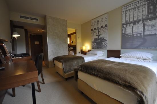 Lindner Hotel Am Michel: Room view