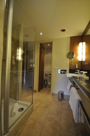 Lindner Hotel Am Michel: Walk-in bathroom