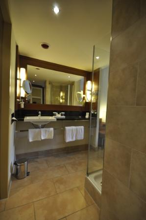 Lindner Hotel Am Michel: Walk-in bathroom
