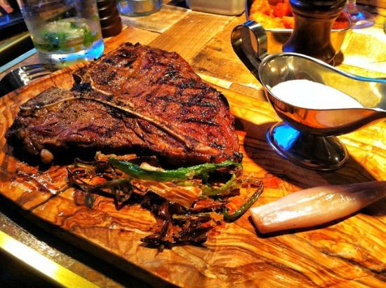 """The Steak House : The """"28 days"""" Porterhouse."""