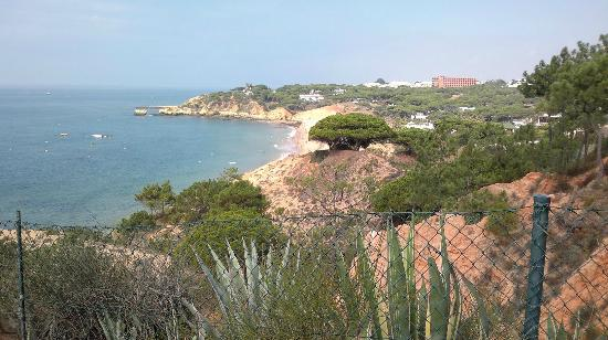 Alfagar Aldeamento Turistico: View of Santa Eulalia beach from apt. village