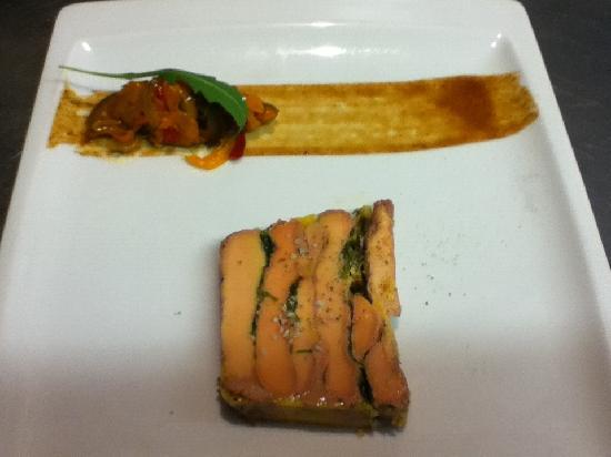 Ricochet : foie gras basilic