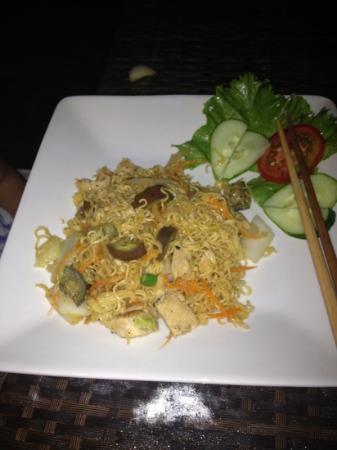 Ocean's Republic: Noodle with chicken