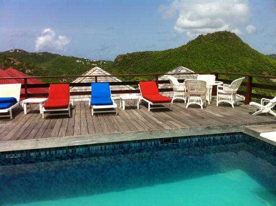 Les Islets Fleuris : la piscine