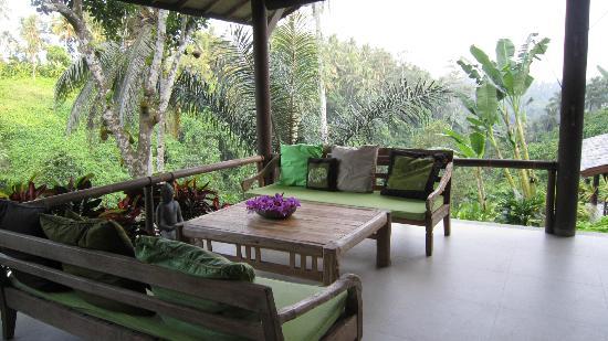 Zenubud: la terrasse