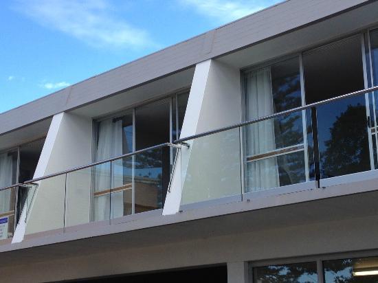 Brunswick River Inn: Balcony