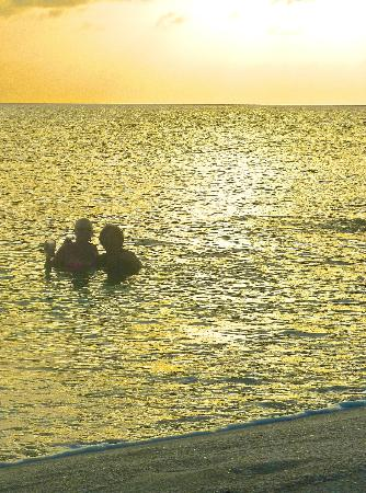 Bimini Sands Resort and Marina: Sunset on the beach