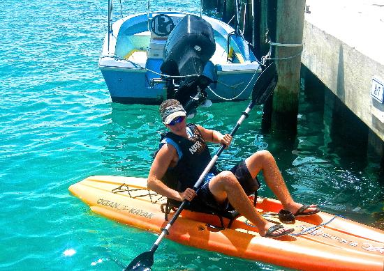 Bimini Sands Resort and Marina : kayaking