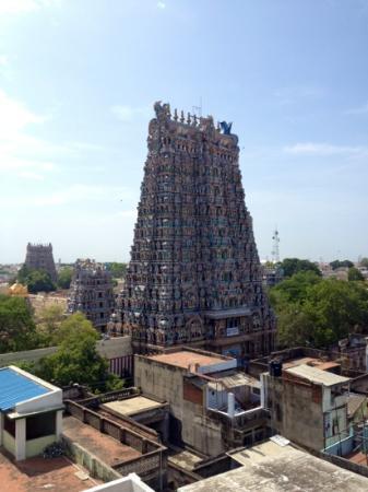 Hotel Sree Devi: vanaf het dak!
