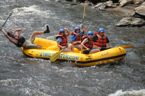 A-1 Wildwater Rafting: Having a blast