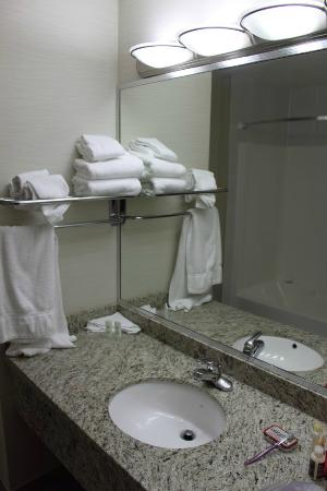 Comfort Inn & Suites Surrey: Bathroom (after stay)