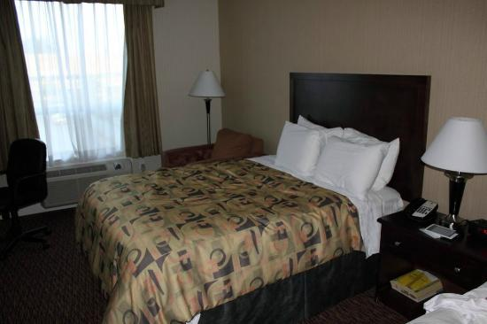 Comfort Inn & Suites Surrey: 2nd bed (after stay)