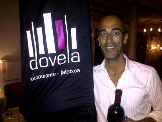 Dovela Restaurante: Jose the charming and entertaining owner
