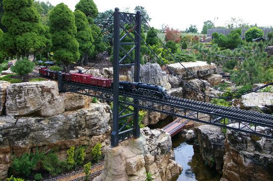 Taltree Arboretum and Gardens: bridge