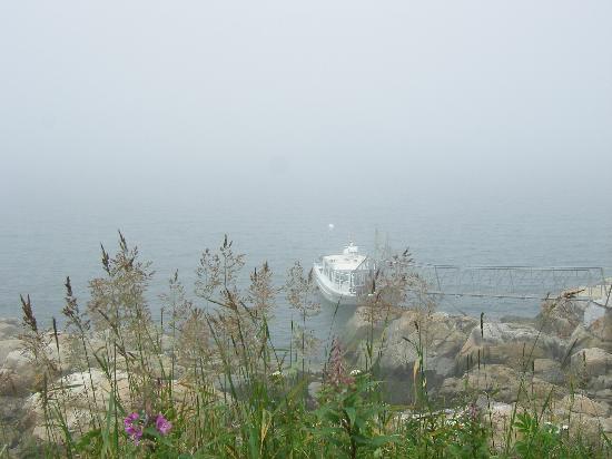 Phare du Pot a l'Eau-de-Vie: Le quai d'arrivée ou de départ du phare